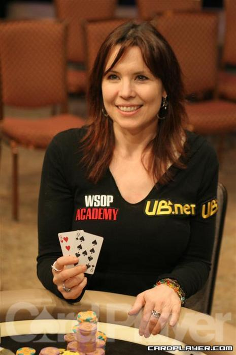 Annie Duke is promoting charity poker tournaments on UB