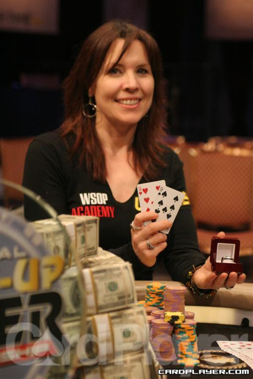 Annie Duke Wins the 2010 NBC Nationald Heads-Up Poker