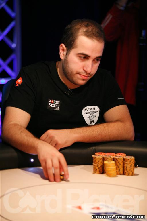 Nicolas Chouity at the 2010 EPT Grand Final