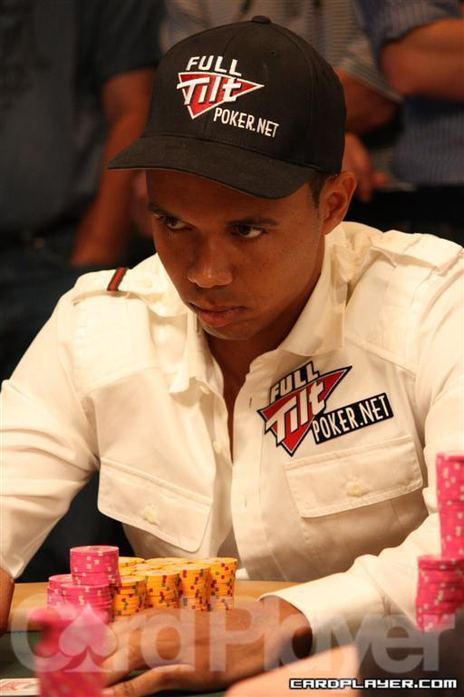Phil Ivey is in the Top 10 in Chips