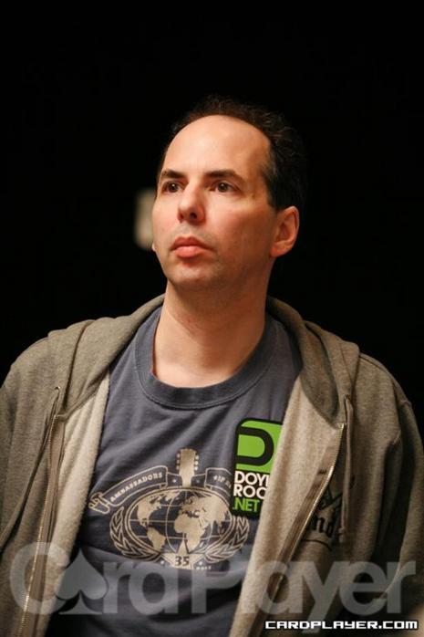 Allen Kessler at the 2010 WSOP