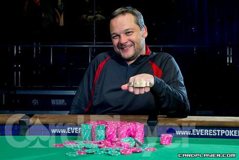Bell after his WSOP win in 2010