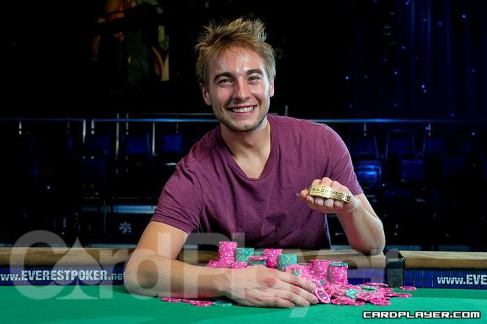 2010 WSOP bracelet winner Chance Kornuth