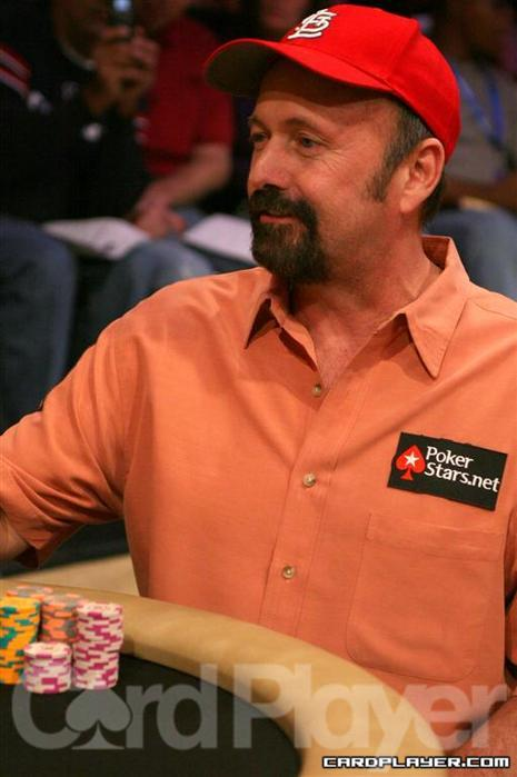 Dennis Phillips at the 2011 NBC Heads Up Championship