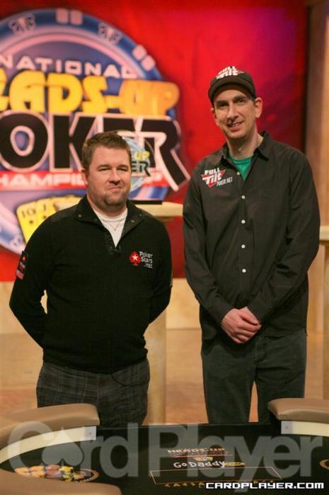 Chris Moneymaker and Erik Seidel