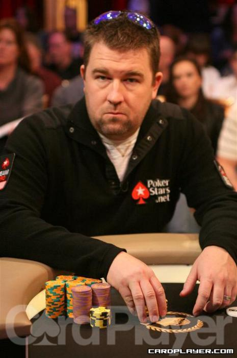 Chris Moneymaker On The Ropes