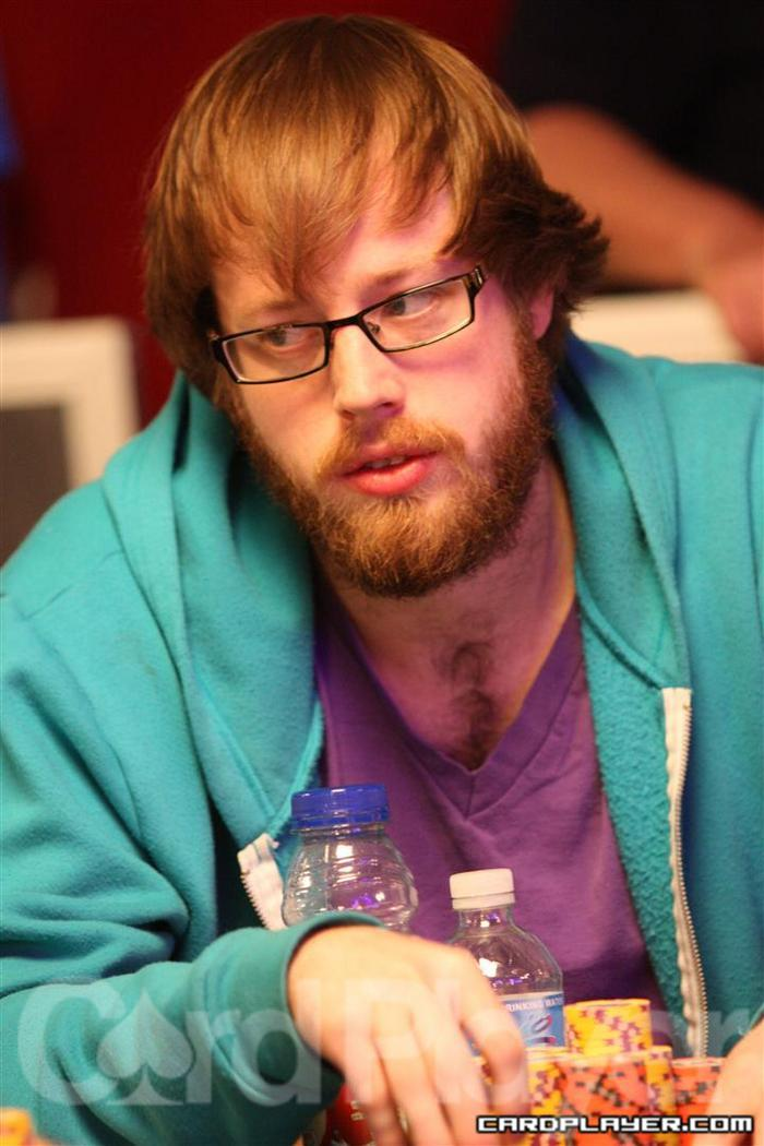 Ryan Lenaghan takes close to 13 million into Day 7