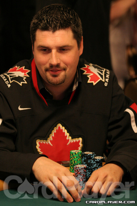 Brad Booth on Day 2B of the 2011 Main Event