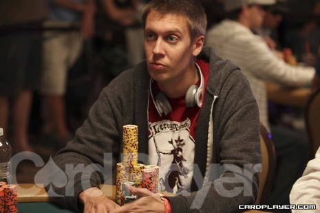 Hanks before the final table