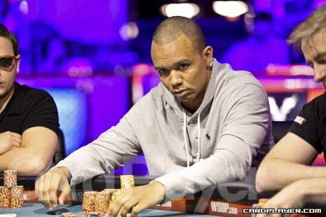 Phil Ivey at his final table