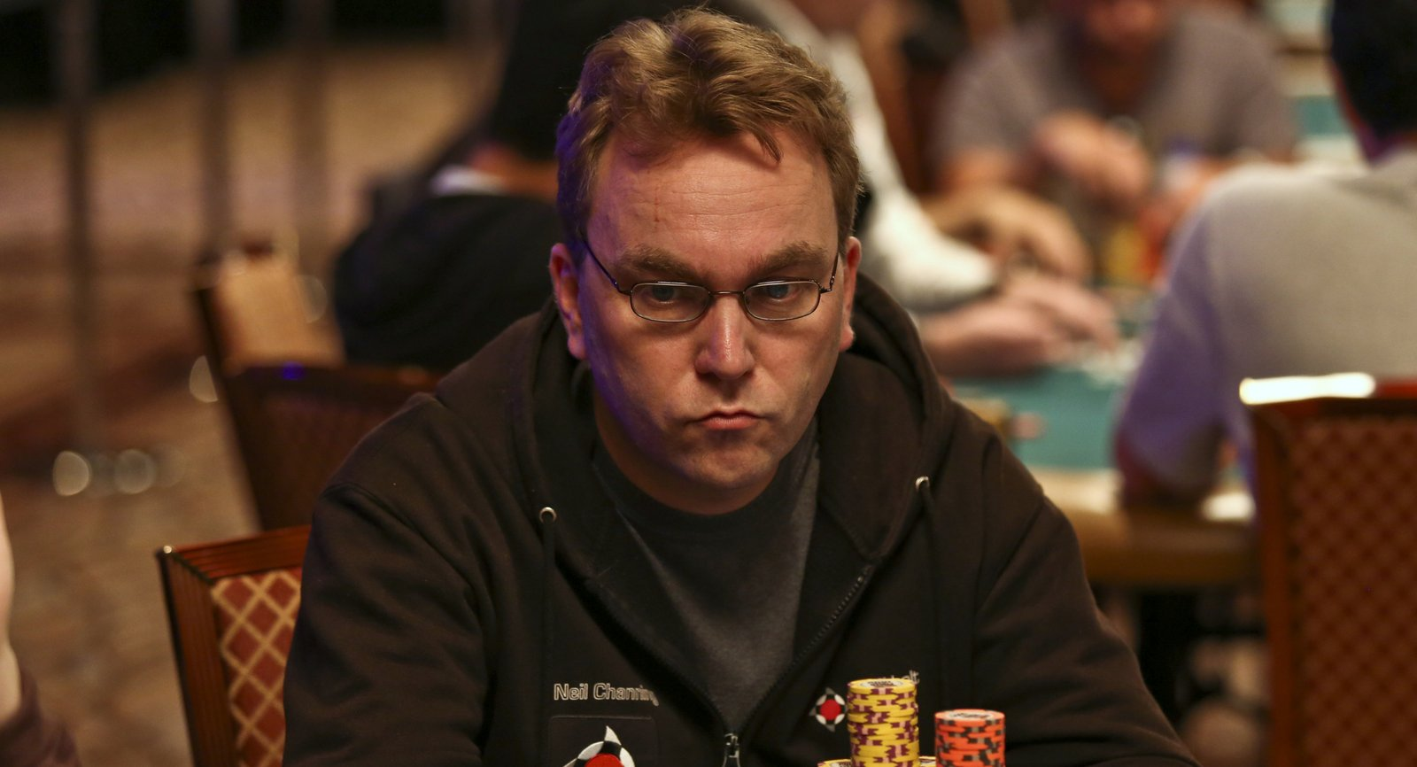 Neil Channing Live Updates Poker Player