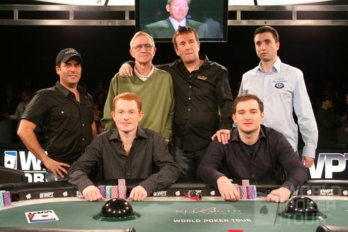 Финальный стол World Poker Tour Doyle Brunson Classic 2007