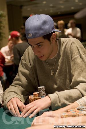 Nick Schulman at the 2005 World Poker Finals