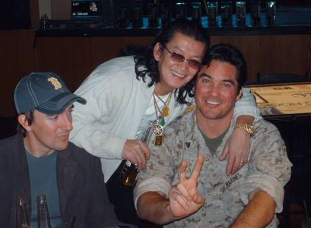 Kirk Morrison, Scotty Nguyen, and Dean Cain