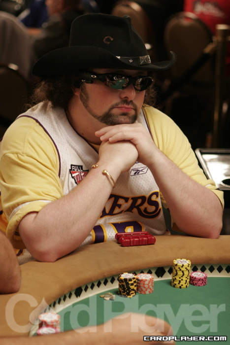 David Bach Overall Day 1 Chip Leader