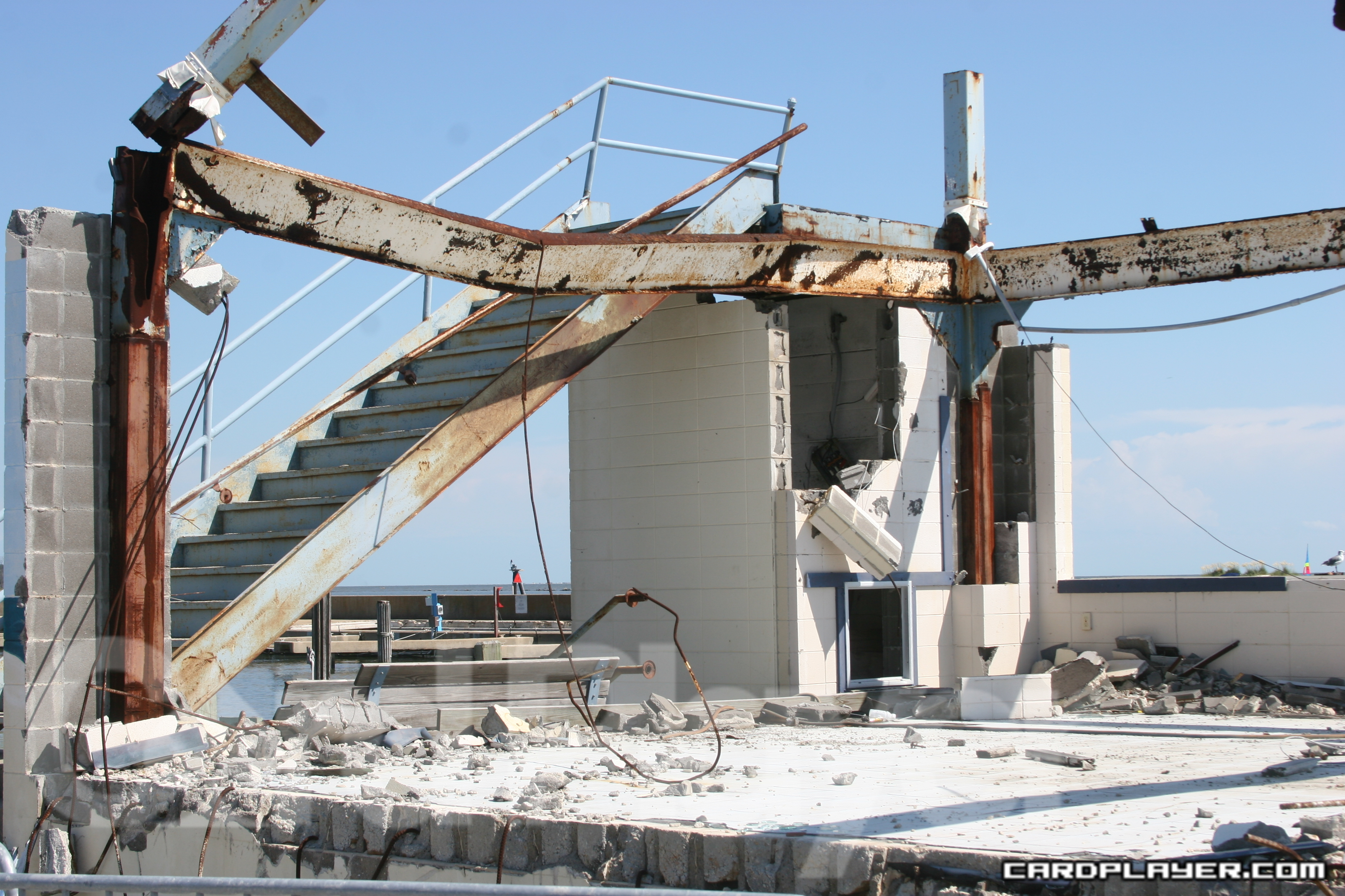 An example of the damage caused by Katrina