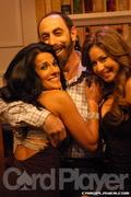 Rachel, Barry Greenstein, and Sunshine