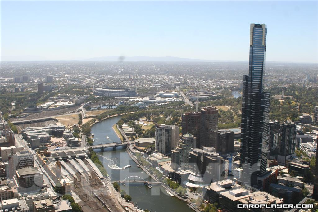 Downtown Melbourne from 53 Floors Up