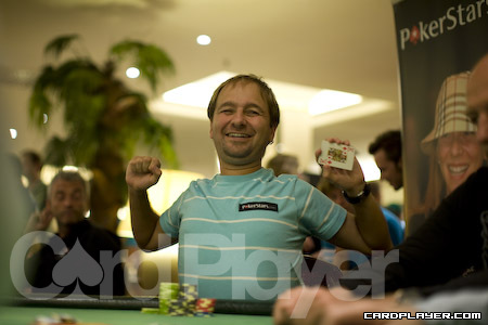 Daniel Negreanu likes to win. He doesn't like to chop.