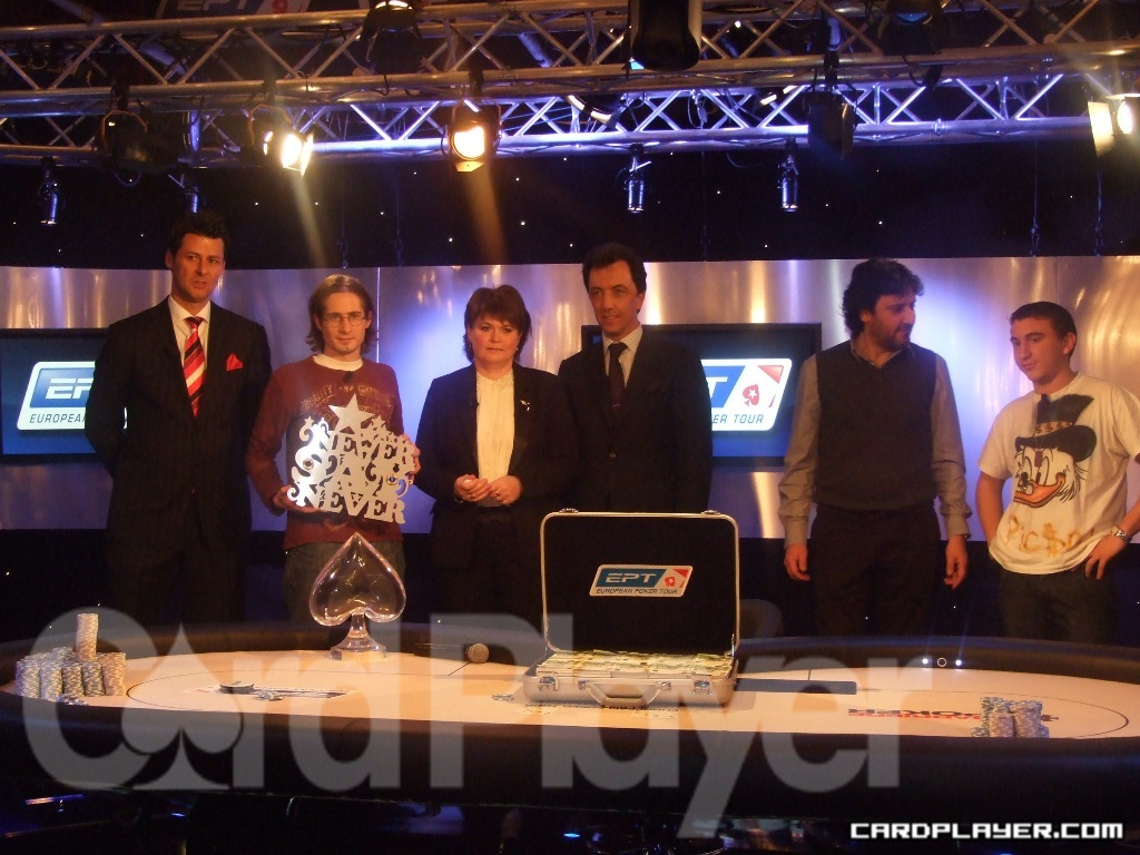 EPT Deauville First and Second Place Finishers