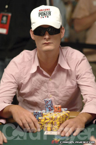 Michiel Brummelhuis is among the chip leaders