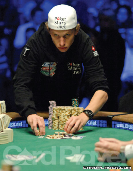 Peter Eastgate wins the 2008 WSOP main event