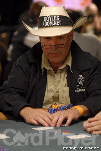 Hoyt Corkins and Ivan Demidov exchanged a series of preflop raises until