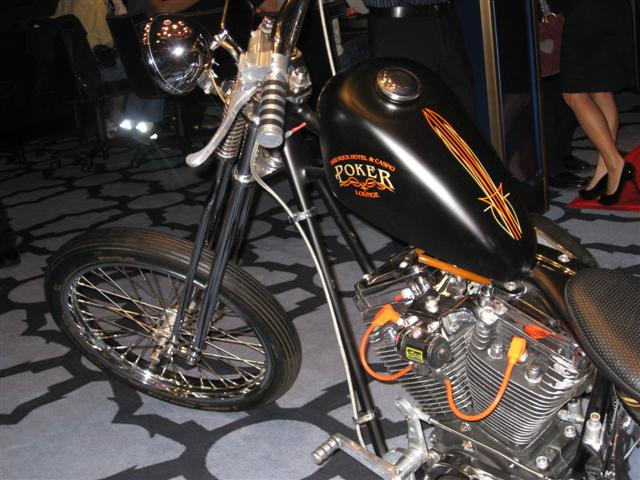 The First-Place Prize - a Hard Rock Harley Chopper