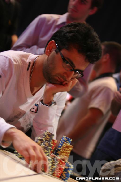 Antonio 'The Magicial' Esfandiari makes chips appear