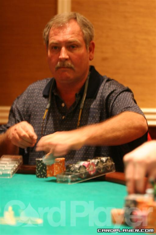 Ted McCollom eliminated in 13th place