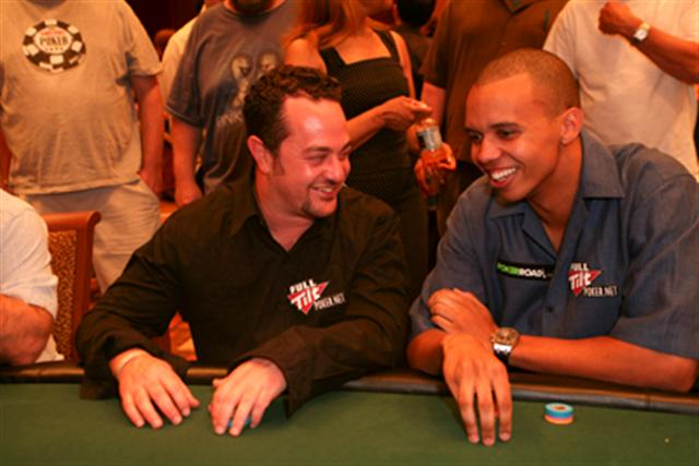 David Oppenheim and Phil Ivey