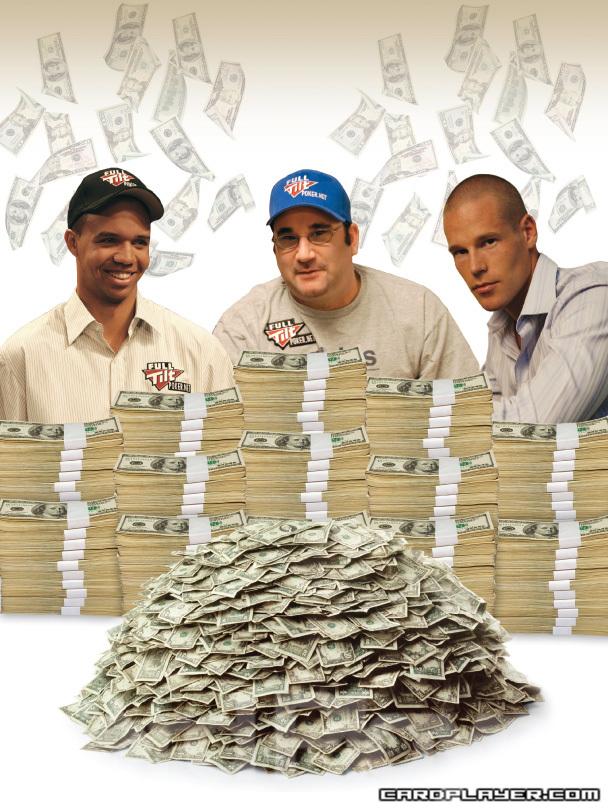 Million Dollar Men -- Phil Ivey, Mike Matusow, and Patrik Antonius