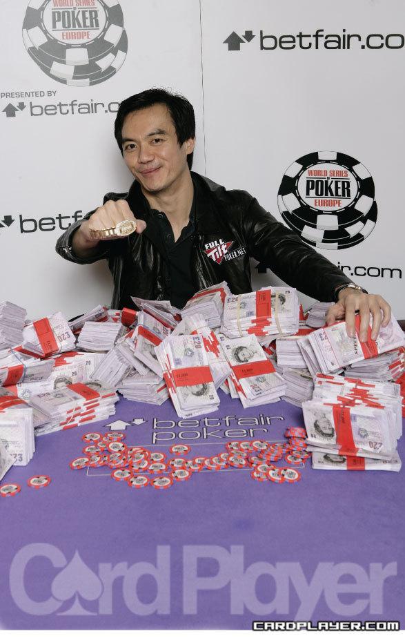 John Juanda wins the 2008 World Series of Poker Europe main event