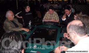 Lyle Berman playing at a PokerTek table at Excalubur