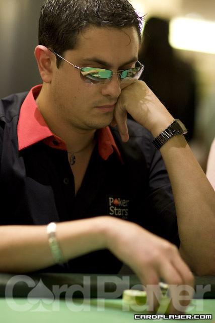 PokerStars pro Luca Pagano returns for Day 2 of the Scandinavian Open