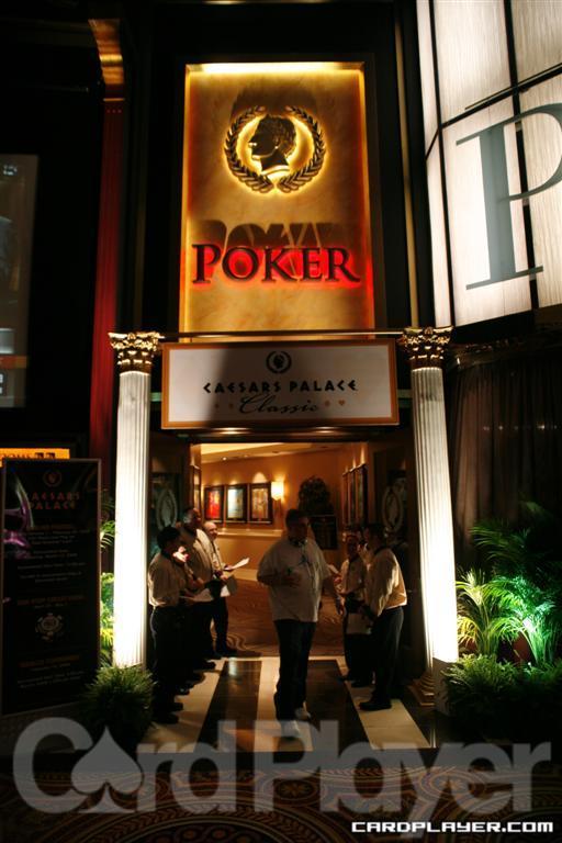 Caesars Poker Room Entrance