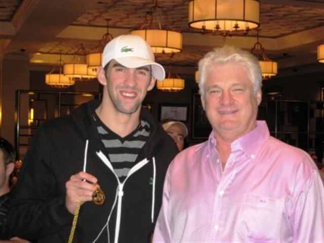 Michael Phelps and Barry Shulman