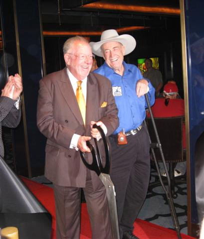Oscar Goodman and Doyle Brunson