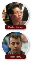 Marlon Santos and Ralph Perry