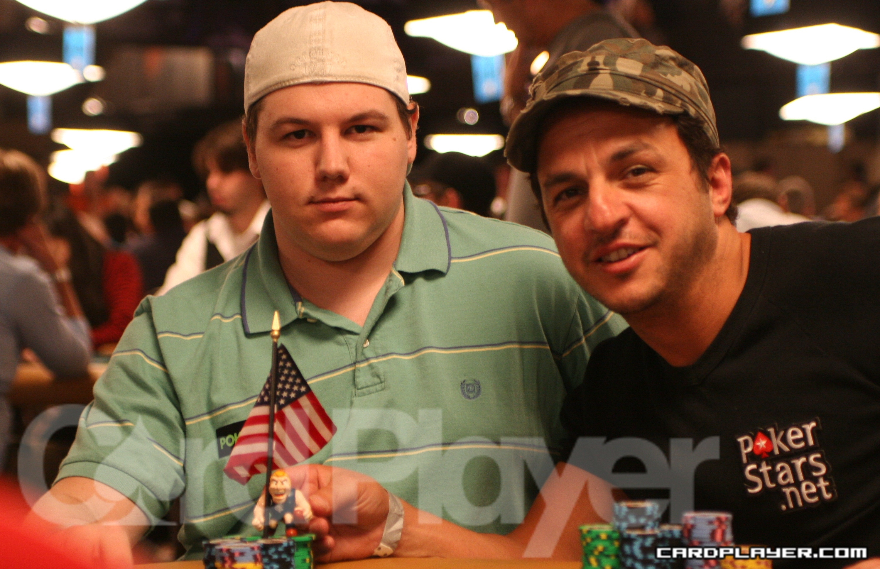 Shaun Deeb and Tony Hachem Represent The Poker Melting Pot