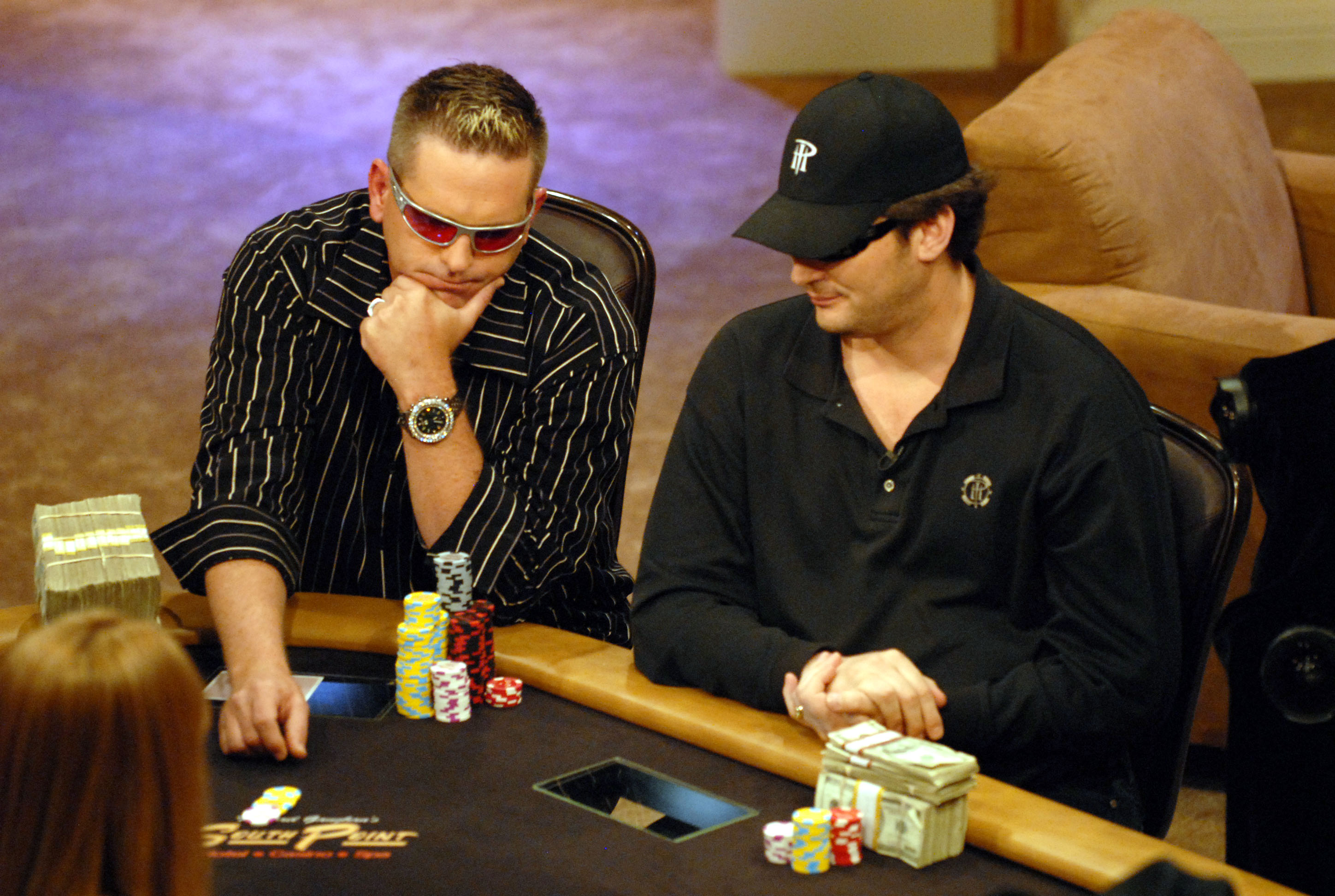 Antonio Salorio on High Stakes Poker with Phil Hellmuth