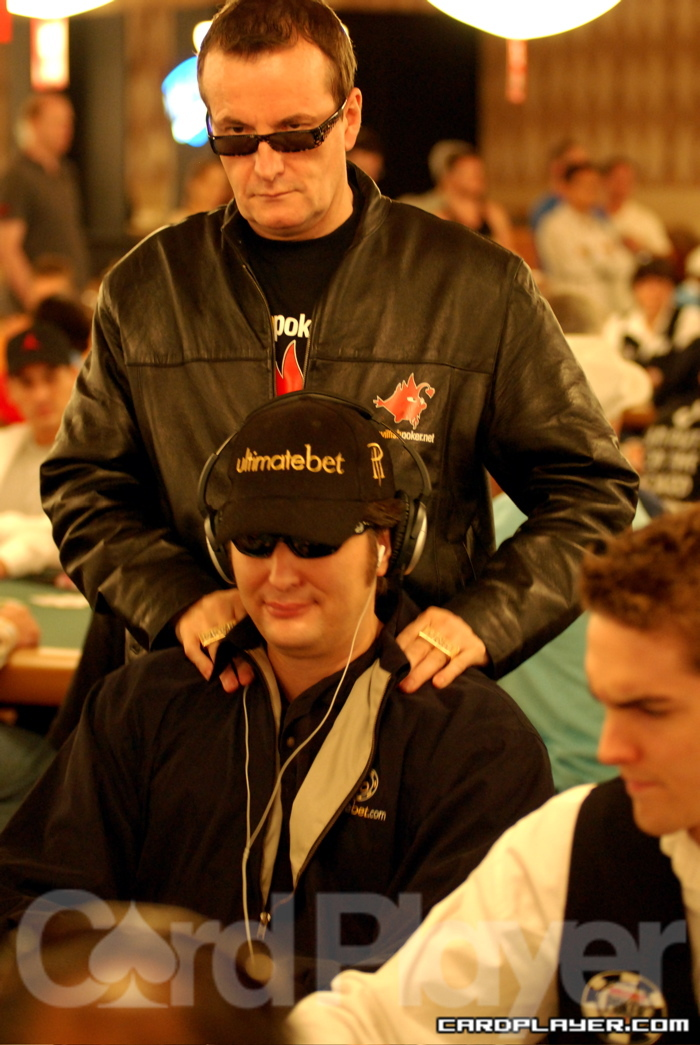 David Ulliot and Phil Hellmuth
