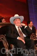 Doyle Brunson takes the seat of honor at his Roast on Thursday, July 27, 2006