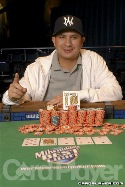 JC Tran at World Series of Poker