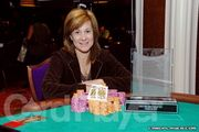 Lisa Adams Wins the Wynn Poker Classic $500 no-limit hold'em event