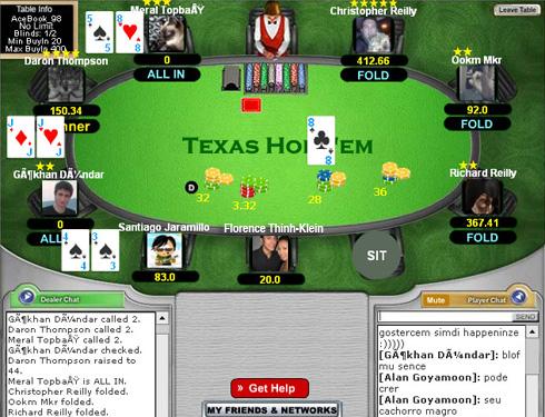 texas hold em poker card games on facebook
